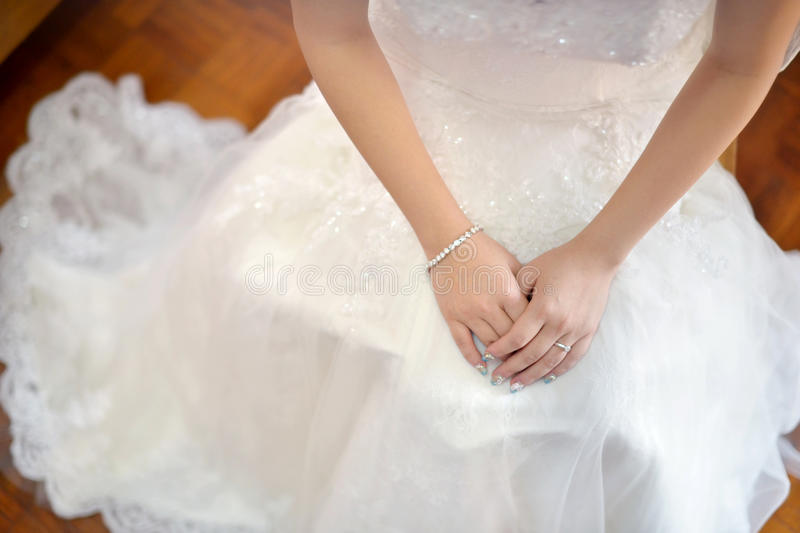 Download Asian bride stock photo. Image of beautiful, holding - 26752362