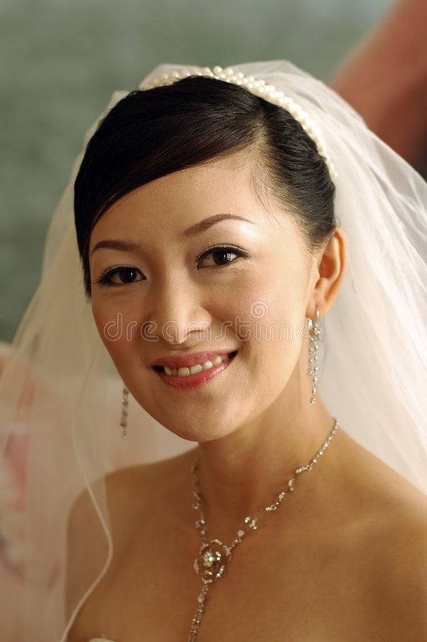 Download Asian Bride stock photo. Image of beautiful, chinese, pretty - 2909422