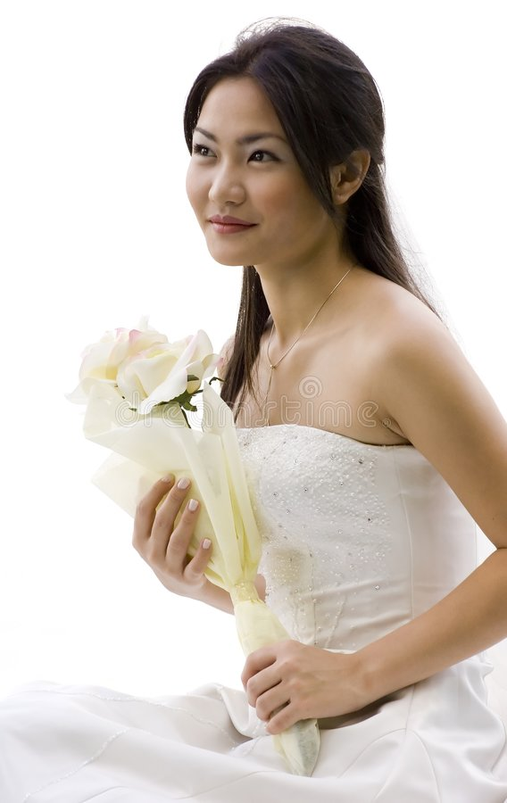 Download Asian Bride 3 stock photo. Image of dress, attractive, marriage - 220484