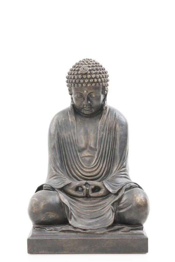 Asian Buddha Isolated On White Background Royalty Free Stock Images