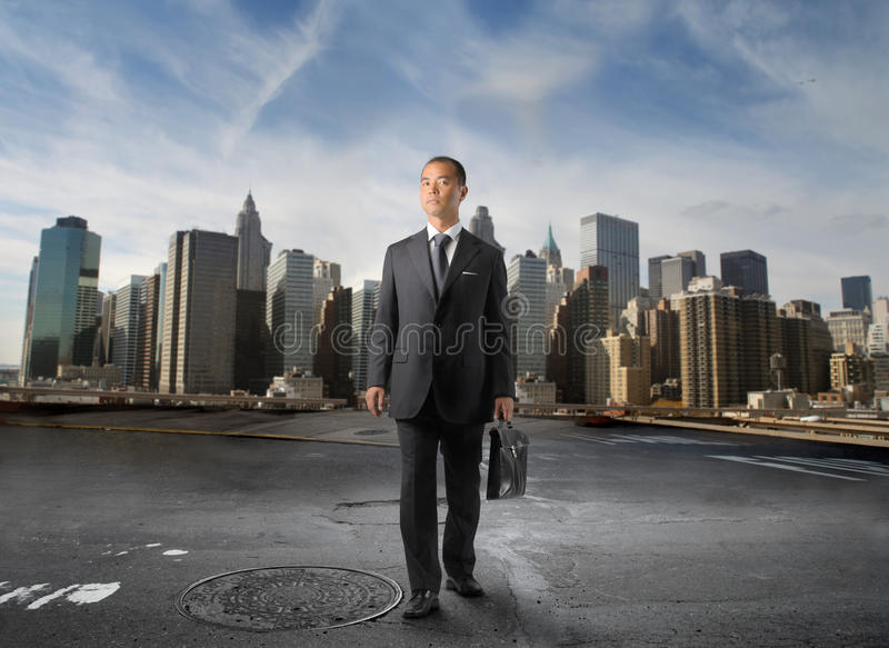 Asian Business Royalty Free Stock Photo