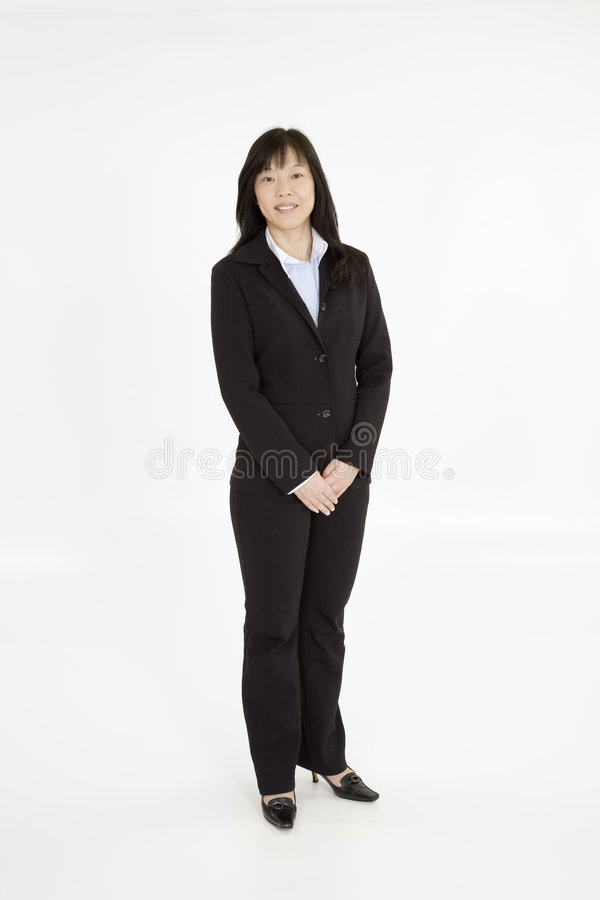 Asian Business Royalty Free Stock Photography
