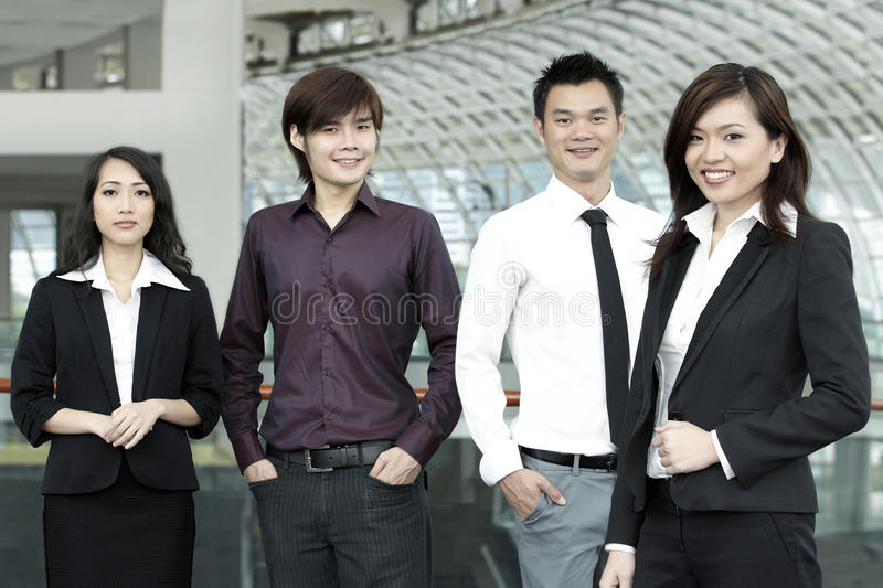 Asian Business colleagues