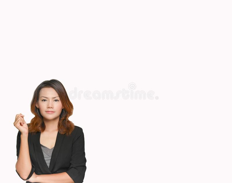 Asian business lady stock image