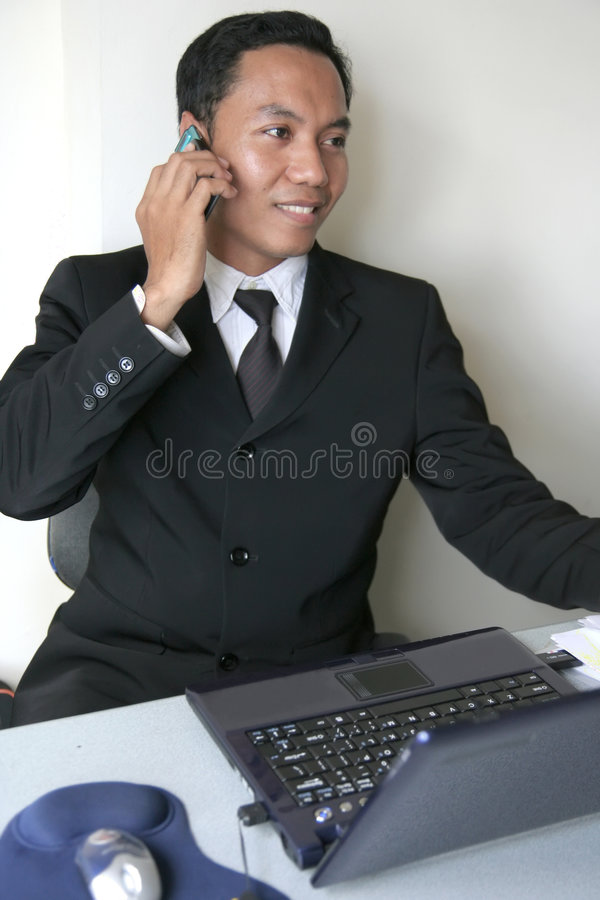 Asian Business Man Royalty Free Stock Images