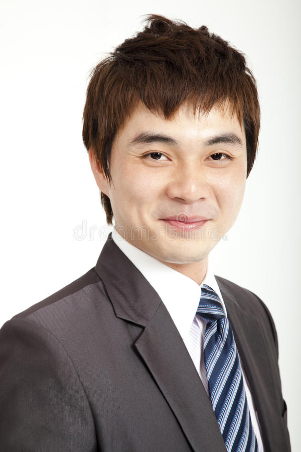Asian Business Man Smiling Royalty Free Stock Photo