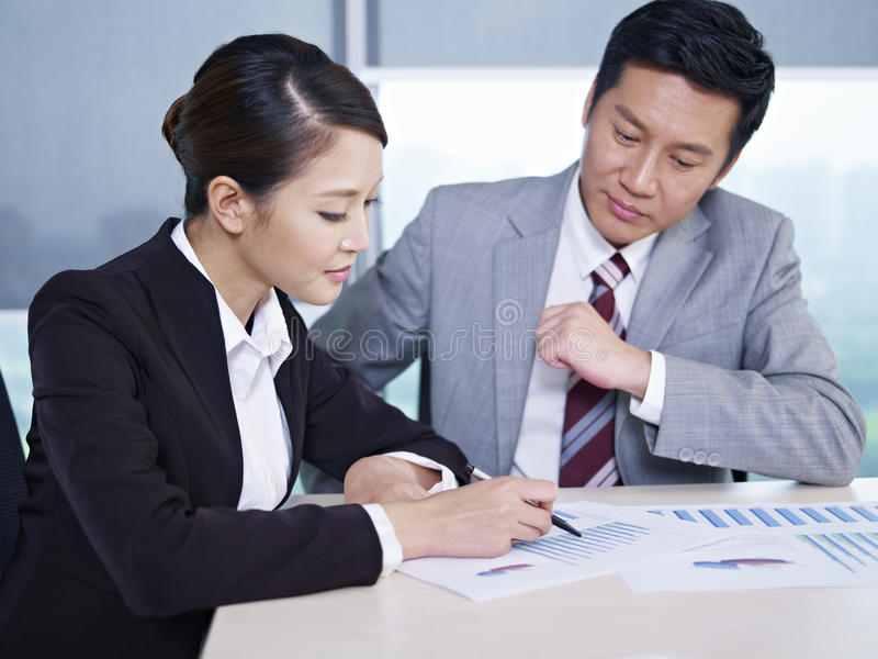 Download Asian business people stock image. Image of horizontal - 28967771