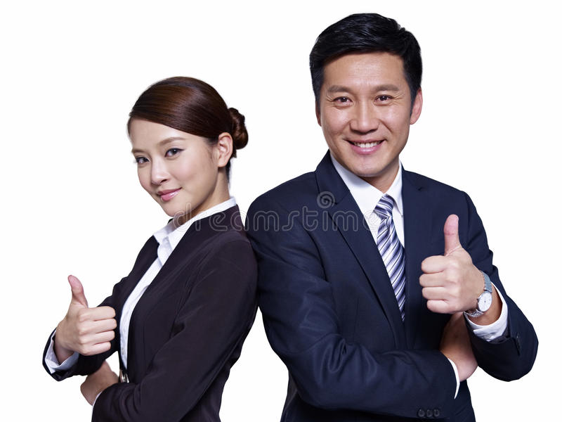 Download Asian business people stock photo. Image of back, co - 30613744