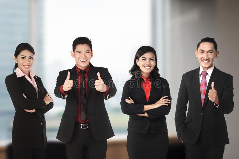 Asian Business Team royalty free stock image