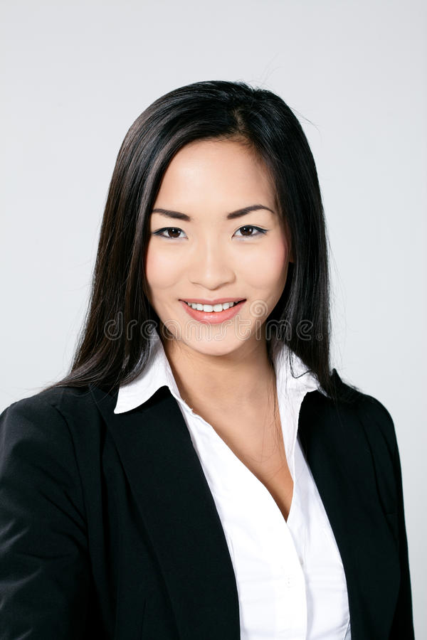 Download Asian business woman stock photo. Image of facial, hair - 16303126