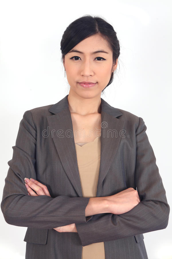 Asian Business woman royalty free stock photo