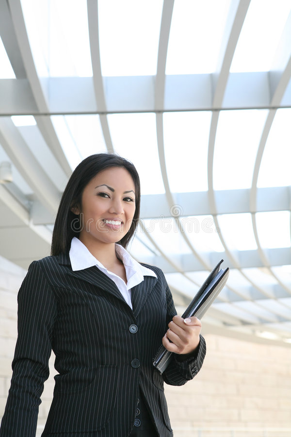 Free Asian Business Woman Stock Photography - 5201602