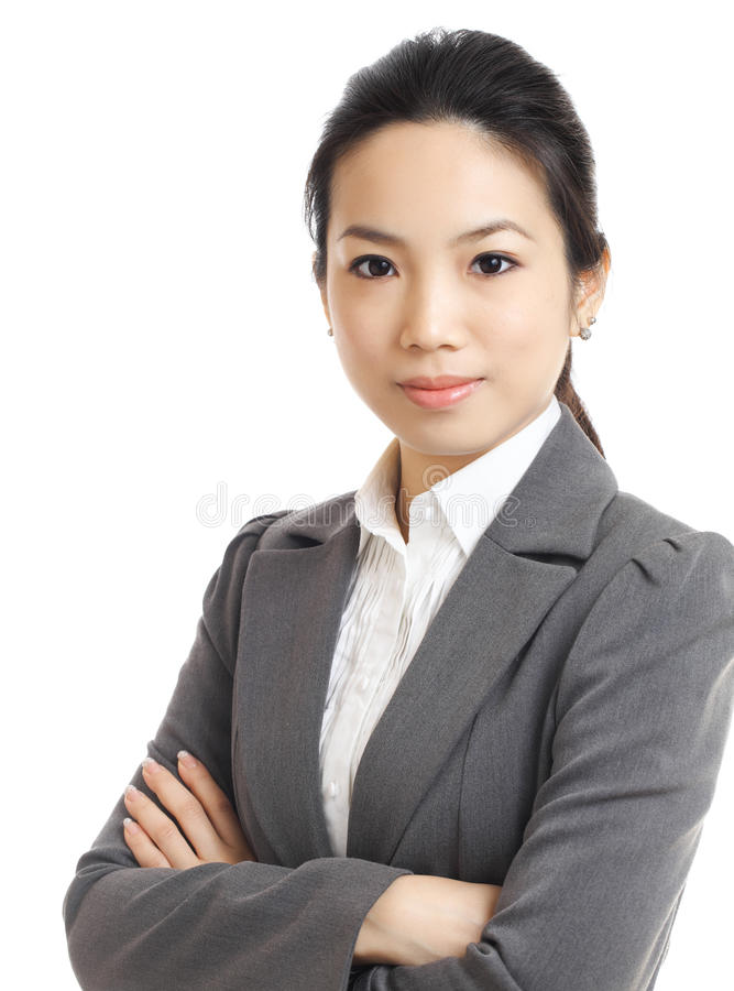 Asian business woman stock images