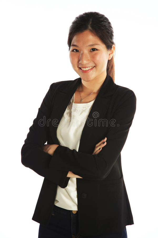 Asian Business Woman royalty free stock photography