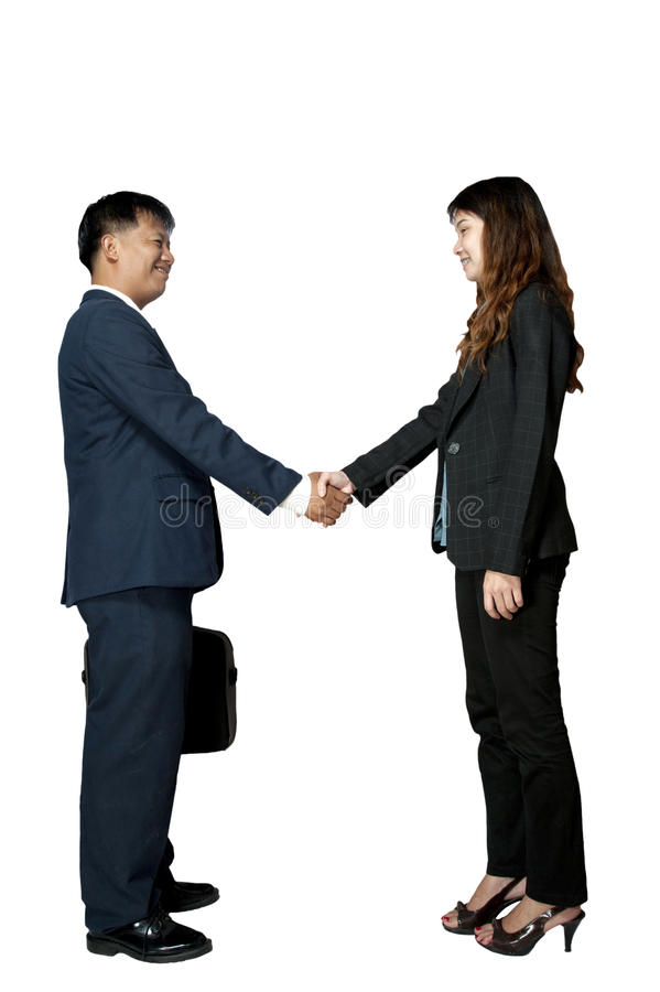 Asian business women and man royalty free stock image
