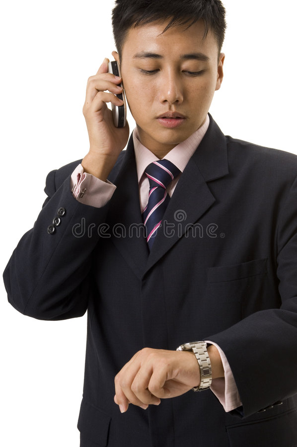 Asian Businessman 7 Stock Photography