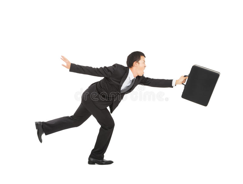 Download Asian Businessman running stock photo. Image of career - 28950680