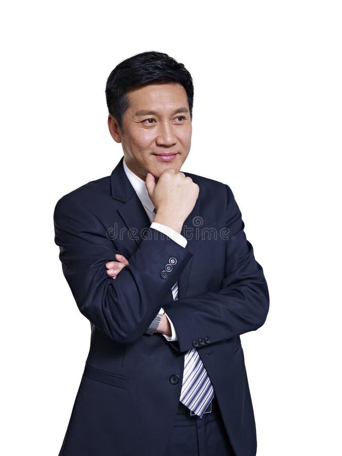Asian businessman royalty free stock photo