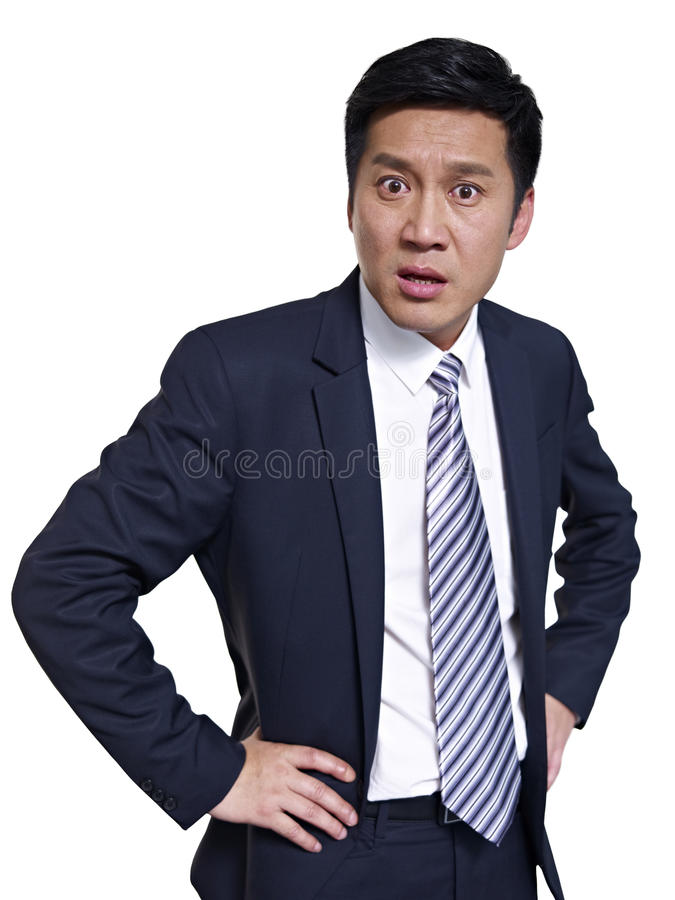 Asian businessman stock image