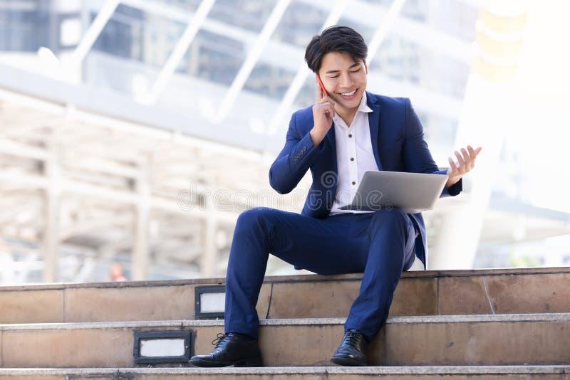 Asian businessman work stock photography
