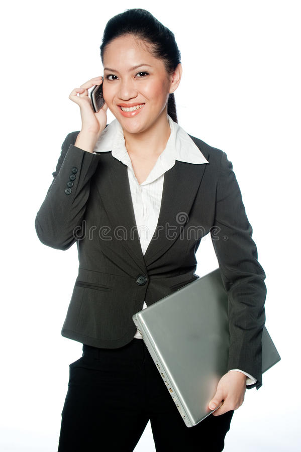 Asian Businesswoman Royalty Free Stock Images