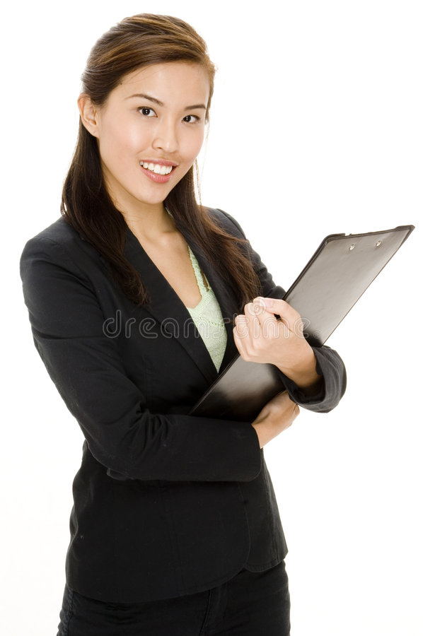 Download Asian Businesswoman stock image. Image of attractive, pretty - 1245167