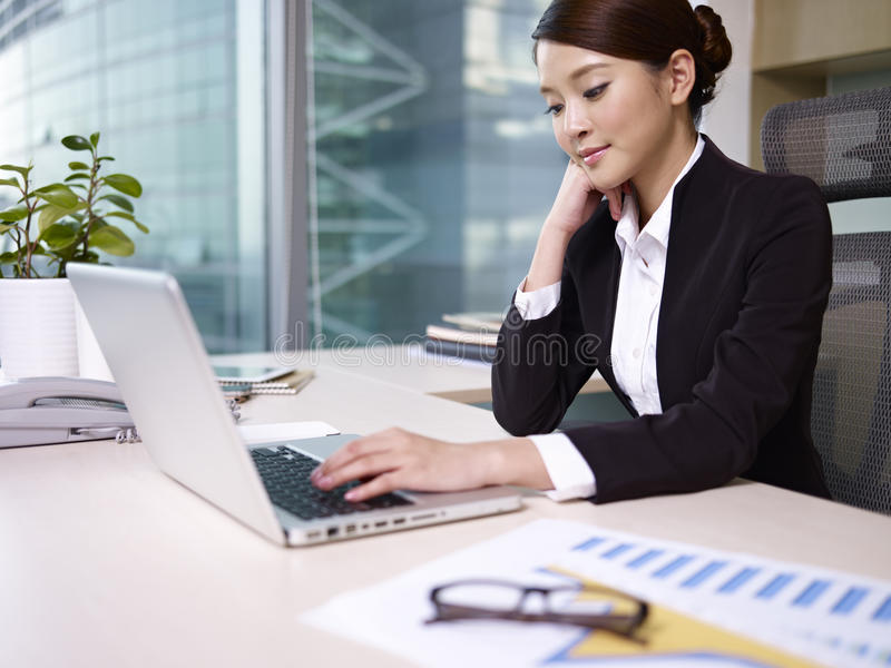 Asian businesswoman stock photography