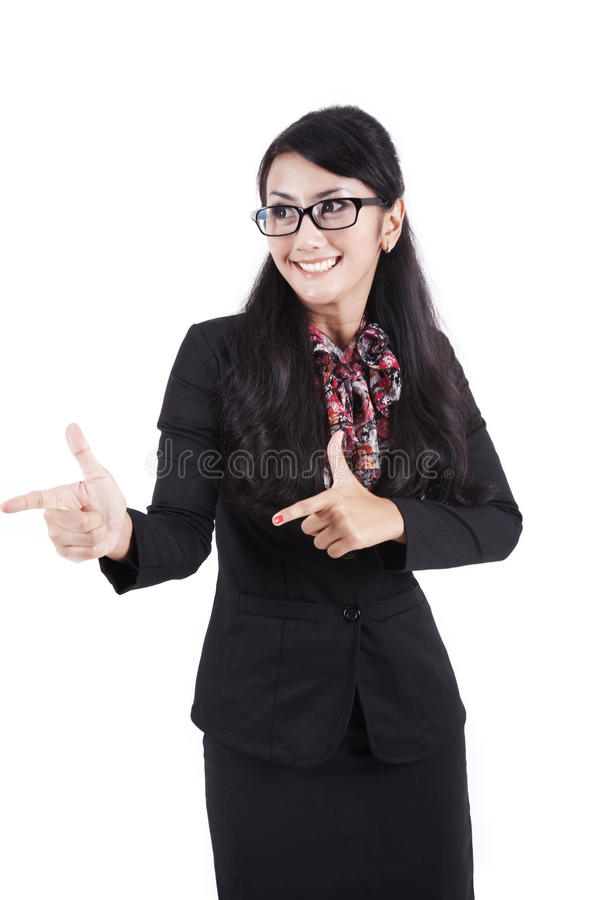 Download Asian Businesswoman Hands Gesture Stock Image - Image: 22809359