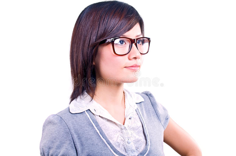 Download Asian Businesswoman Portrait Stock Photo - Image of looking, asian: 13920086