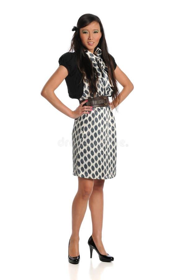 Asian Businesswoman Standing stock photos