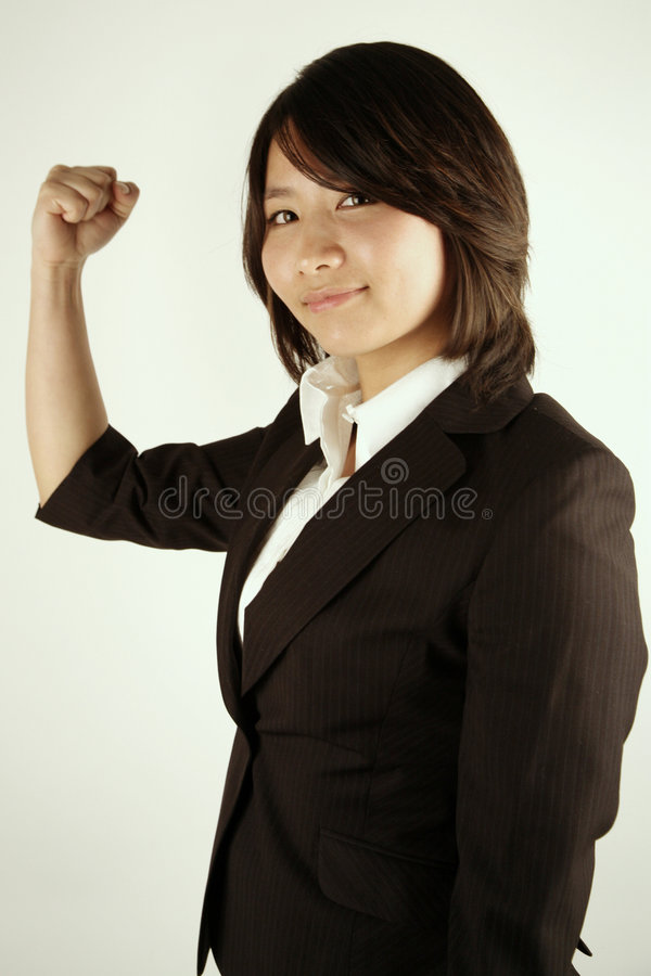asian businesswoman successful arkivbilder