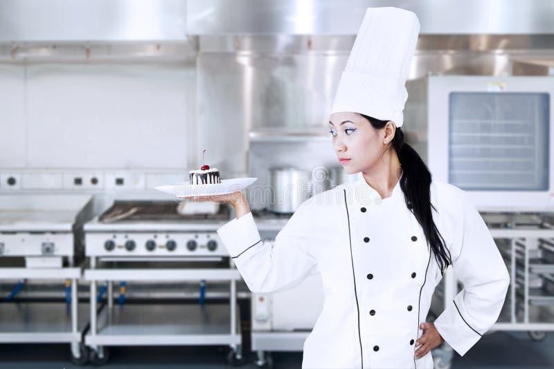Elegant Chef Stock Photo