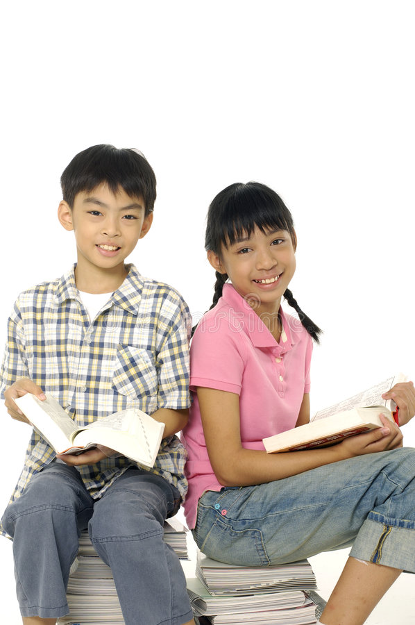 Download Asian Children stock photo. Image of high, concentrated - 7645454