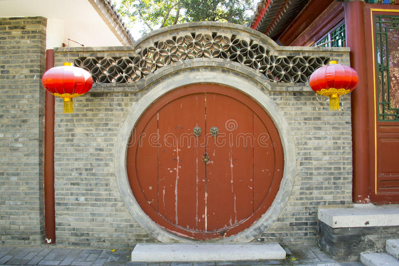 Download Asian China, Antique Buildings, Circular Door Stock Image - Image  of china, - Asian China, Antique Buildings, Circular Door Stock Image - Image Of