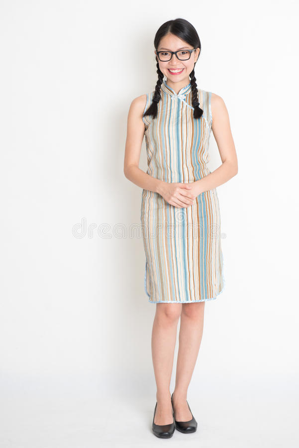 Free Asian Chinese Girl Smiling Stock Image - 44346381