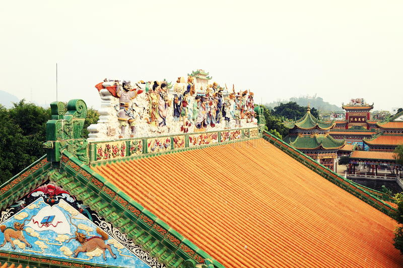 Download House roof China stock photo. Image of asian, classical - 48033820