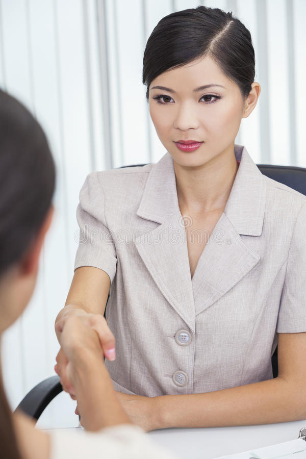 Download Asian Chinese Woman Or Businesswoman Shaking Hands Stock Image - Image: 28659775
