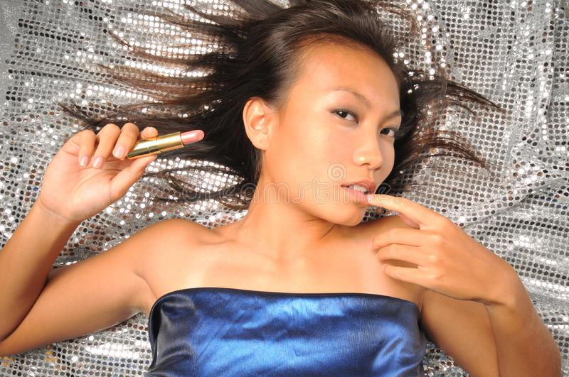 Download Asian Chinese Woman In Teasing Pose Stock Photo - Image: 7839964