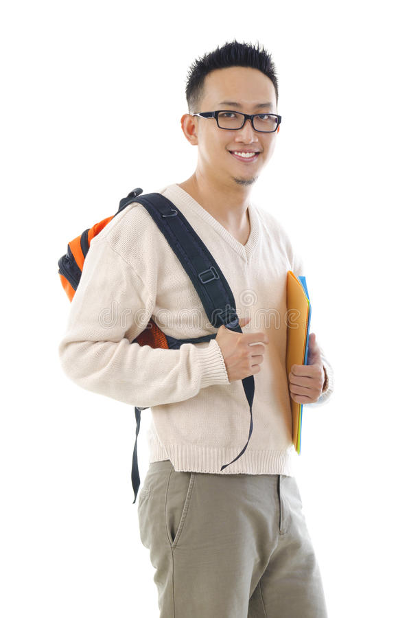 Download Asian college boy stock image. Image of contemporary - 26338549