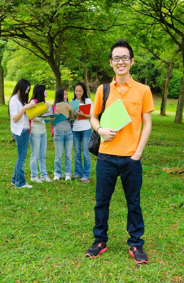 asian college student στοκ εικόνα