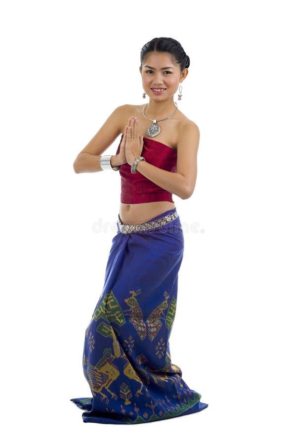 Asian com expressão bem-vinda fotos de stock royalty free