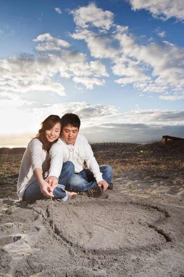 asian couple στοκ εικόνες