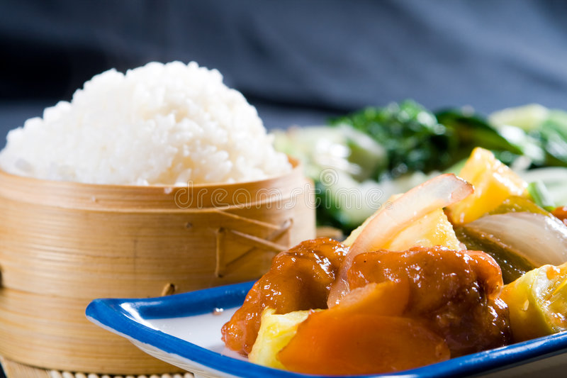 Download Asian cuisine stock photo. Image of meal, brown, chinese - 8600656