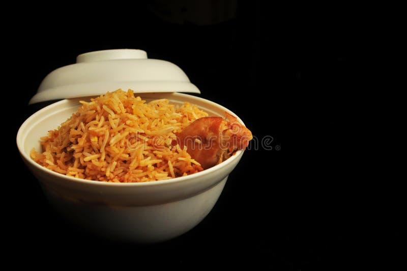 Download Asian Cuisine Chicken Biryani Stock Image - Image of asian, pulau: 28200023