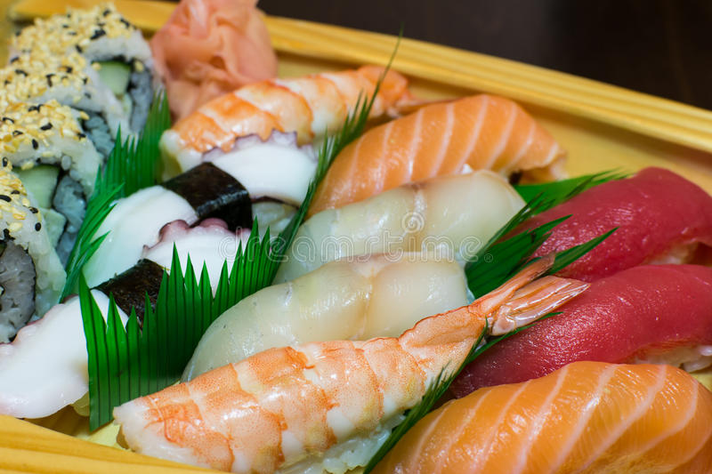 Asian cuisine - sea food royalty free stock images