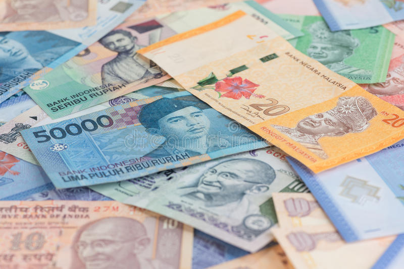 Download Asian Currencies Background Stock Image - Image: 33636679