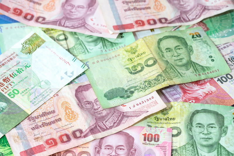 Asian currency royalty free stock image
