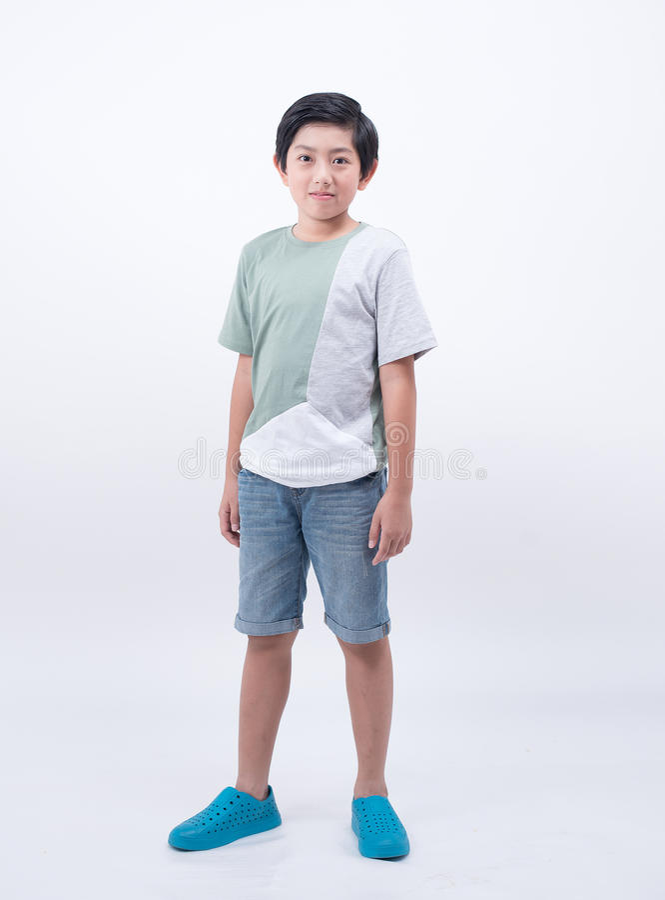 Asian cute boy royalty free stock image