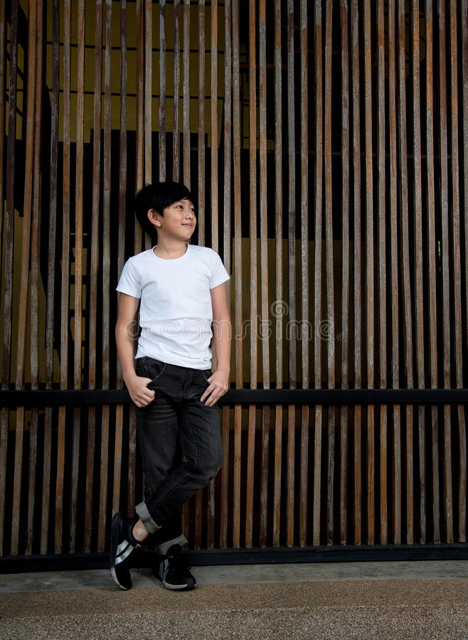 Asian cute boy stock images