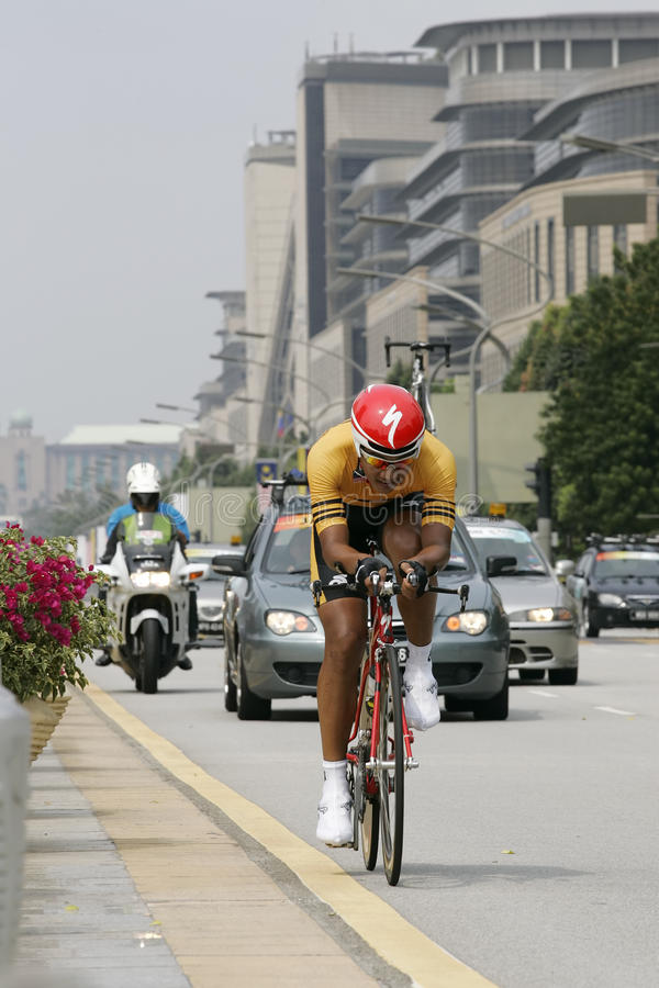 Asian Cycling Championship 2012 At Putrajaya Editorial Stock Image